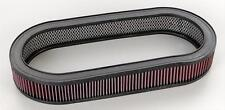"""4"""" Tall Oval Air Cleaner K&N Filter Shelby Cobra AC GT350 500 KR Eleanor 427 428"""