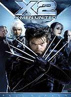 X2 X-Men United - Movie DVD