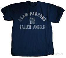 Gram Parsons - Fallen Angels T-Shirt XL - Blue