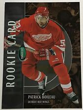 2002-03 PATRICK BOILEAU ITG PARKHURST BRONZE ROOKIE CARD #243 RED WINGS #036/100