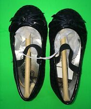 NEW! Girls Size Toddler 4 Ballet Dress Strap Shoes Black Mary Jane