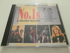 Various Artists -No 1`s & Million Sellers / Vol 4 (CD Album 1993) Used Very Good