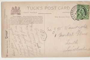 Mr. J.W. Wainwright, 1 Market Place Louth 1912 Postcard, M016