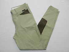 WOMENS equestrian horse riding PANTS knee patch = KERRITS = LARGE = km47
