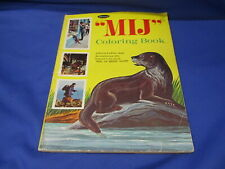 Vintage MIJ Coloring Book Whitman 1969 Ring of Bright Water