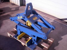 Jersey Barrier Lifter Concrete Excavator Crane Attachment