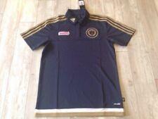 Authentic Adidas Philadelphia Union Soccer Coaches Polo Jersey Small S MLS US