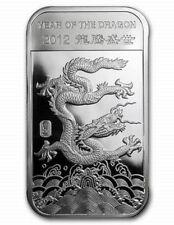 2012 Lunar Year of the Dragon Mint Sealed 1/2 oz. Fine Silver Bar!!