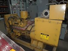 Cat 3208 Diesel Generator 125KW 156KVA 3PH 12 wire 480Y VAC Used