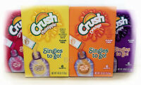 Crush Sugar Free Drink Mix. Low Calorie Diet Food Kitchen Health Lose Weight