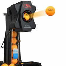 S6-PRO Ping Pong Table Tennis Robots Ball Machine 50W Ball Robots Multi-rotatio