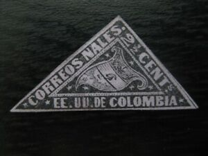 COLOMBIA Sc. #59a scarce mint stamp! SCV