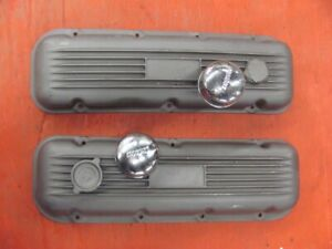 CP Motion Style Big Block Finned Valve Covers 396 427 Chevy Chevrolet