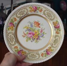 JOHNSON BROTHERS ENGLAND OLD ENGLISH DRESDEN FLOWERS DINNER PLATE CABINET PLATE