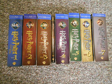 Harry Potter Ultimate Edition Blu Years 1-7 Complete Set (Rare-OOP)