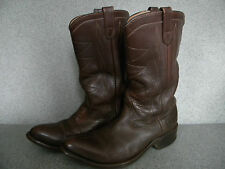 1980's Men's, Nice Classic Western Boot's By Double H Size 9 1/2D Great Cond.