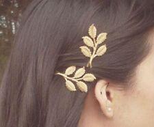 New GOLD Tree Leaf Hair Clip Wedding Boho Punk Hair pin Bridesmaid Bridal GIFT