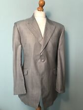 Men's Alexander Savile Row Lightweight Grey Suit Size 44