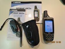 Garmin Gpsmap 60Csx Handheld Gps in Great condition. SiRf Iii Chipset City Navig