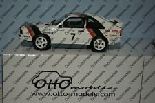 OTTO Audi Sport Quattro Pikes Peak M.Mouton Ltd 2000 Resin 1:18 car OT591