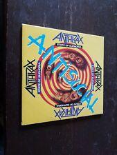 Vintage .Anthrax Promo Cds (2)