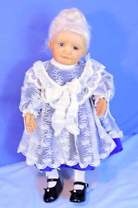 """Retired LE#2/25 All Dressed Up Doll by artist Phyllis Jacobs 18"""" Original Marked"""
