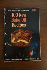 100 New Bake-Off Recipes from Pillsbury's 16th Grand National 1965 Cookbook
