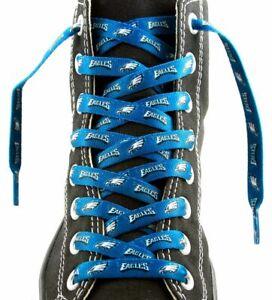 """Philadelphia Eagles Shoe Laces Strings NFL Team Colors 54"""" One Pair Lace Ups"""