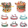 Men Ethnic Jewelry Friendship Bracelets Braided String Rope Hand Weave Charm