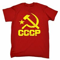 CCCP USSR T-SHIRT stalin communist soviet russian red army russia birthday gift