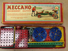 Meccano 1930s accessory outfit Lot of many parts in the Aa outfit Box