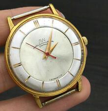 Oro Vintage Chapado Reloj Vympel Bicolor Retro Luch Traje Urss 18k Lujo Hombre
