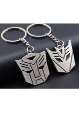 His Hers Couples Transformers Autobots Key Chains Rings I Love You Valentine Set