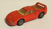 1997 Hotwheels Ferrari F40 European Short Card Release Ferrari Series 3/4 Loose!