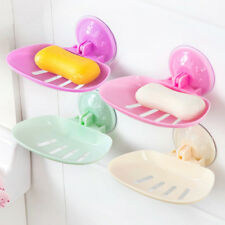 Thicken Bathroom Vacuum Sucker Suction Soap Box Cup Folding Hanging Soap Holder