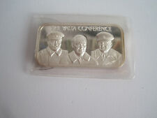 Medaille - Silberbarren - Edition - The Yalta Conference - 1oz Feinsilber