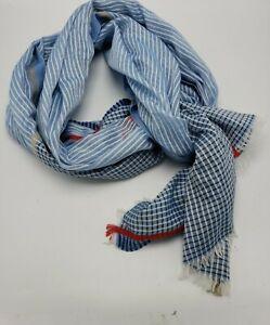 $39 Women's echo  50% cotton 50% modal blue stripes    2z