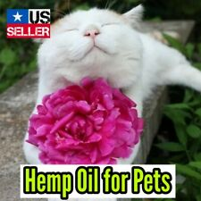 Pet Hemp Oil • Animal Anxiety • Seizures • Arthritis • Hemp Oil Drops • 1oz