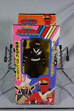 Kakuranger Black Ranger Action Figure Japan Yutaka 1994 95F
