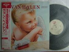 VAN HALEN 1984  / JAPAN WITH OBI