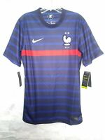 NIKE 2020-21 FRANCE HOME JERSEY (CD0700-498) BLUE-RED-WHITE