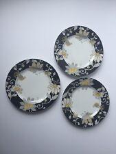 "Vera Bradley Yellow Bird Set of 3 Plates 8.25"" Andrea by Sedak"