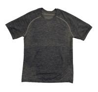 LULULEMON Men's Metal Vent Tech Green Short Sleeve Exercise Shirt | Small