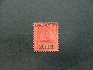 British Guiana 1905 2c purple & black on red SG241 VLMM