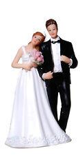Brautpaar 13,5 cm Hochzeitspaar Schleier Tortenfigur Hochzeitstorte Figur