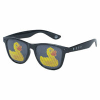 Neff Men's Daily Lens Print Shades Sunglasses Gloss Black Ducky Sunwear Beach