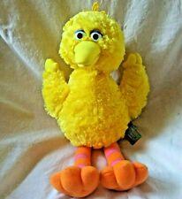 "Gund Sesame Street Big Bird Yellow Plush Animal #75350 Super Soft 12"" Tall 2002"