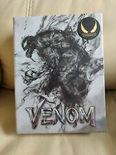 Venom Blufans Blu-ray White Boxset Mint/Sealed/LOOSE DISC