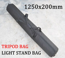 1250mm Camera Tripod Carry Bag Light Stand Case 49-Inch For Velbon Manfrotto etc