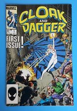 Cloak and Dagger #1 Ongoing Series Marvel Comics 1986 Bill Mantlo Rick Leonardi